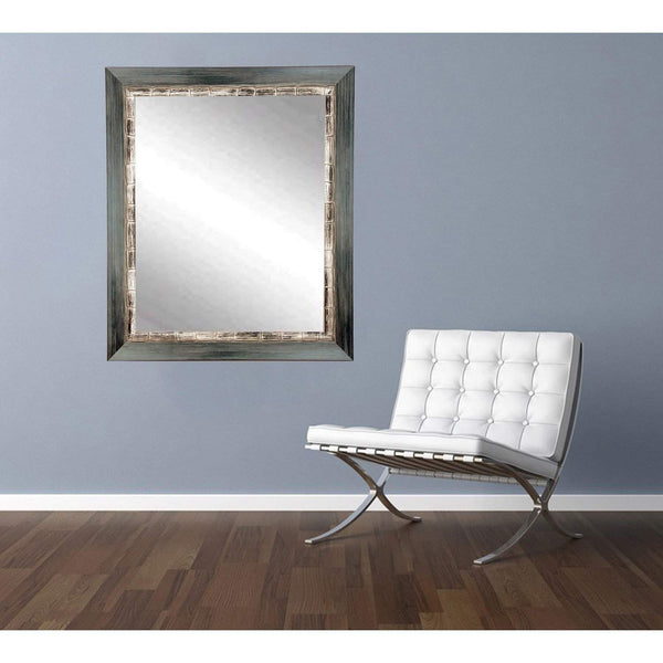 "Brandt Works Weathered Harbor Wall Mirror BM021M2 32""x36""-Wall Mirror-Floor Mirror Gallery"