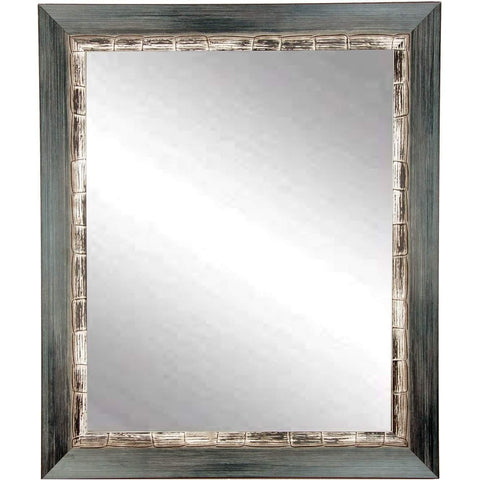 "Brandt Works Weathered Harbor Wall Mirror BM021M 27""x32""-Wall Mirror-Floor Mirror Gallery"