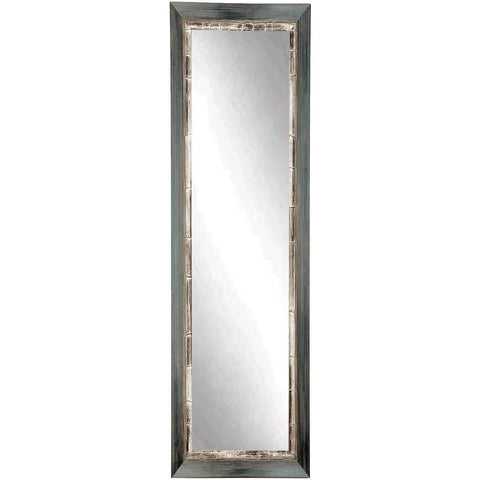 "Brandt Works Weathered Harbor Floor Mirror BM21SKINNY 16.5""x71.5""-Floor Mirror-Floor Mirror Gallery"