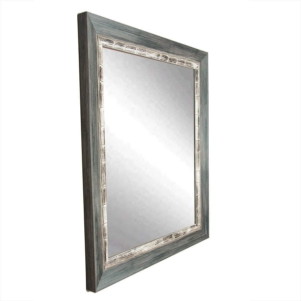 "Brandt Works Weathered Harbor Wall Mirror BM021S 22""x32""-Wall Mirror-Floor Mirror Gallery"