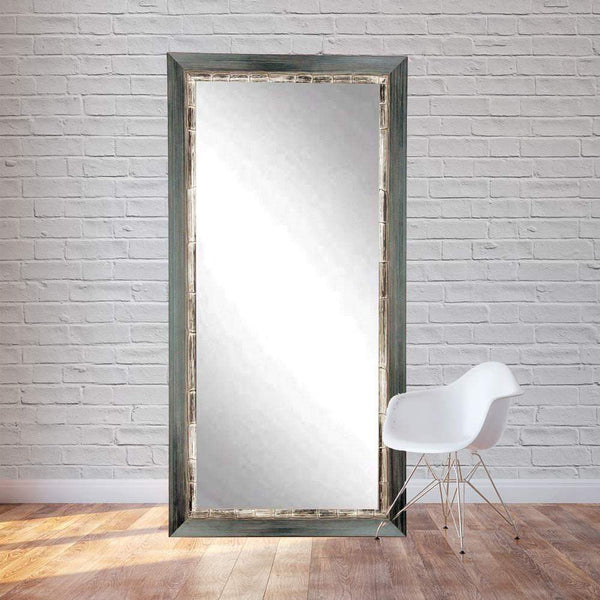 "Brandt Works Weathered Harbor Floor Mirror BM021T 32""x71""-Floor Mirror-Floor Mirror Gallery"