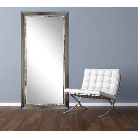 "Brandt Works Weathered Harbor Floor Mirror BM021TS 32""x66""-Floor Mirror-Floor Mirror Gallery"