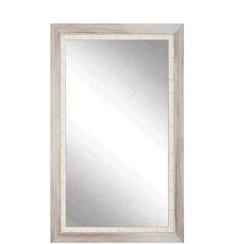 "Brandt Works Weathered Beach Wall Mirror BM023L3 32""x55""-Wall Mirror-Floor Mirror Gallery"