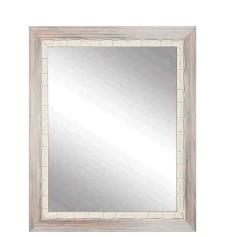 "Brandt Works Weathered Beach Square Wall Mirror BM023SQ 32""x32""-Wall Mirror-Floor Mirror Gallery"