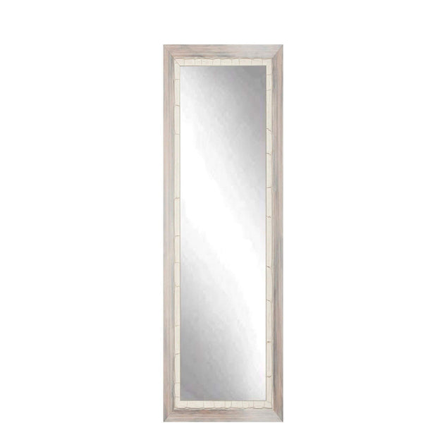 "Brandt Works Weathered Beach Floor Mirror BM23SKINNY 16.5""x71.5""-Floor Mirror-Floor Mirror Gallery"