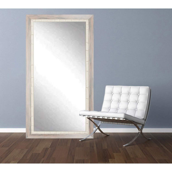 "Brandt Works Weathered Beach Floor Mirror BM023T 32""x71""-Floor Mirror-Floor Mirror Gallery"