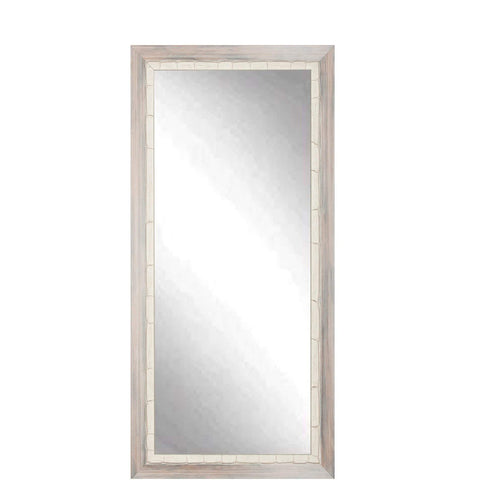 "Brandt Works Weathered Beach Floor Mirror BM023TS 32""x66""-Floor Mirror-Floor Mirror Gallery"