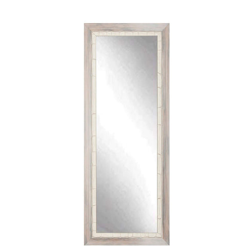 "Brandt Works Weathered Beach Floor Mirror BM23THIN 22""x71.5""-Floor Mirror-Floor Mirror Gallery"