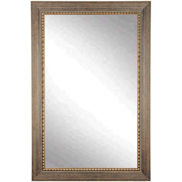 "Brandt Works Bronze Wood Trail Wall Mirror BM024L2 32""x50"" - Floor Mirror Gallery"