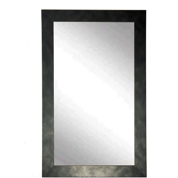 "Brandt Works Clouded Gunmetal Wall Mirror BM025L3 32""x55"" - Floor Mirror Gallery"
