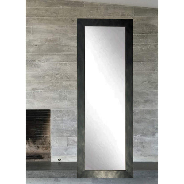 "Brandt Works Clouded Gunmetal Floor Mirror BM25THIN 22""x71.5""-Floor Mirror-Floor Mirror Gallery"