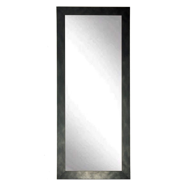 "Brandt Works Clouded metal Floor Mirror BM025TS 32""x66"" - Floor Mirror Gallery"