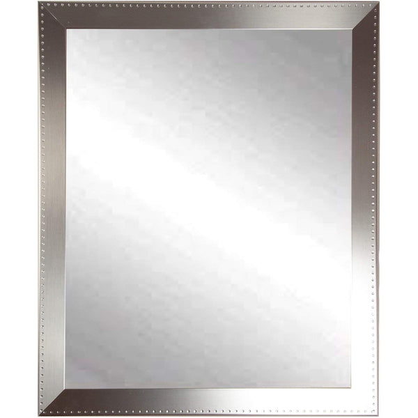 "Brandt Works Embossed Steel Wall Mirror BM026S 20.5""x30.5""-Wall Mirror-Floor Mirror Gallery"