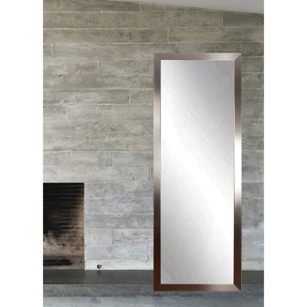 "Brandt Works Embossed Steel Floor Mirror BM26THIN 20""x69.5""-Floor Mirror-Floor Mirror Gallery"