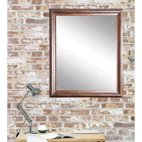 "Brandt Works Vintage Copper Hill Wall Mirror BM031L2 31.5""x49.5""-Wall Mirror-Floor Mirror Gallery"