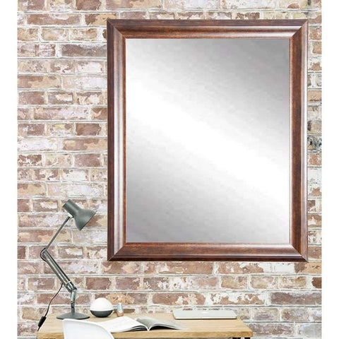 "Brandt Works Vintage Copper Hill Wall Mirror BM031L3 31.5""x54.5""-Wall Mirror-Floor Mirror Gallery"