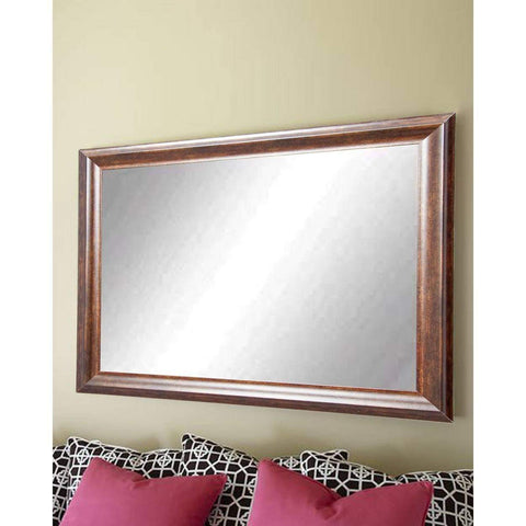 "Brandt Works Vintage Copper Hill Wall Mirror BM031M3 31.5""x40.5""-Wall Mirror-Floor Mirror Gallery"