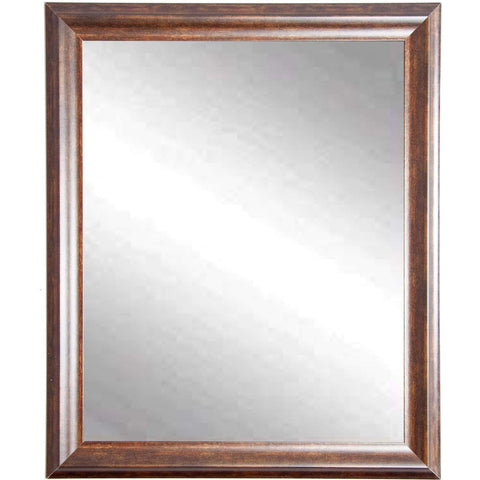 "Brandt Works Vintage Copper Hill Wall Mirror BM031M 26.5""x31.5""-Wall Mirror-Floor Mirror Gallery"