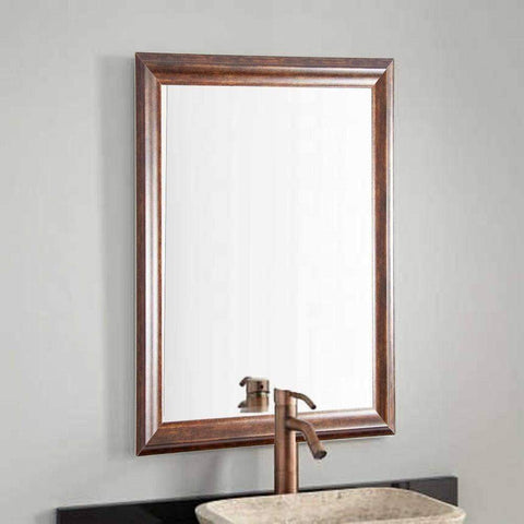 "Brandt Works Vintage Copper Hill Wall Mirror BM031S 21.5""x31.5""-Wall Mirror-Floor Mirror Gallery"
