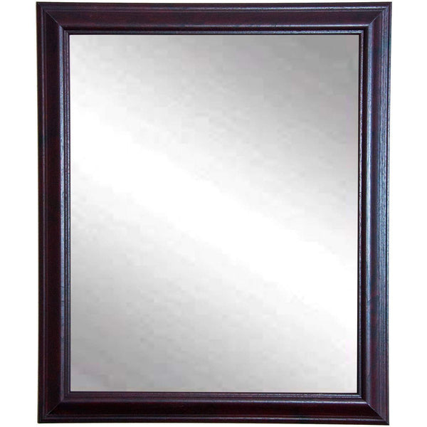 "Brandt Works Burgundy Fair Wall Mirror BM033M 26.5""x31.5""-Wall Mirror-Floor Mirror Gallery"
