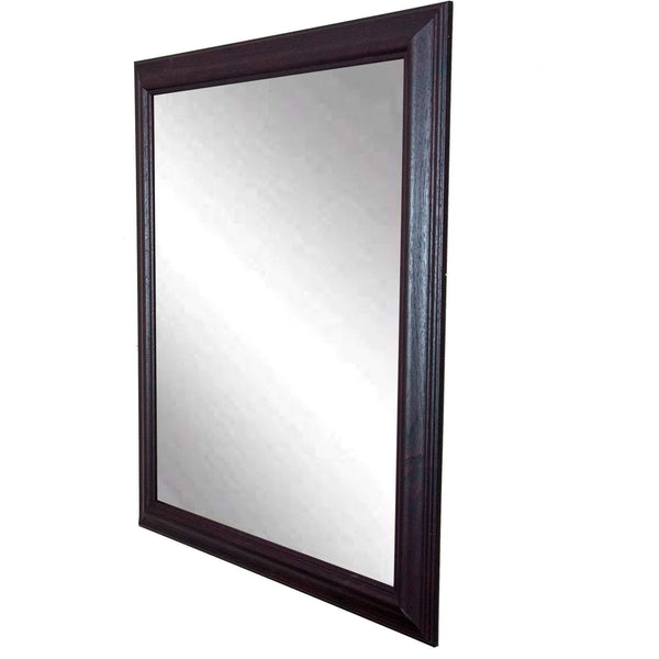 "Brandt Works Burgundy Fair Wall Mirror BM033S 21.5""x31.5"" - Floor Mirror Gallery"