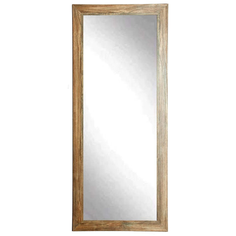 "Brandt Works Blonde Barnwood Floor Mirror BM034TS 32""x66"" - Floor Mirror Gallery"