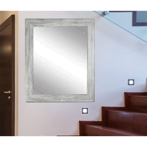 "Brandt Works Weathered Barnwood Wall Mirror BM035L3 33""x56""-Wall Mirror-Floor Mirror Gallery"