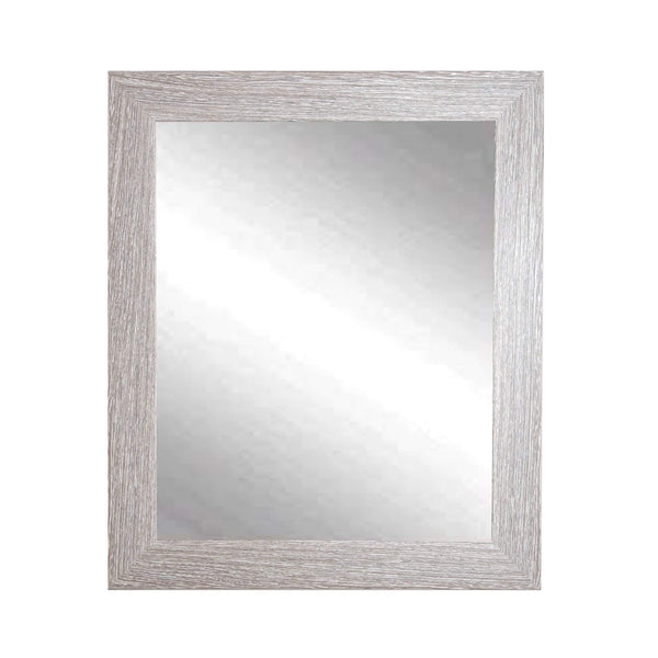 "Brandt Works Farmhouse Barnwood Wall Mirror BM036M 27""x32""-Wall Mirror-Floor Mirror Gallery"