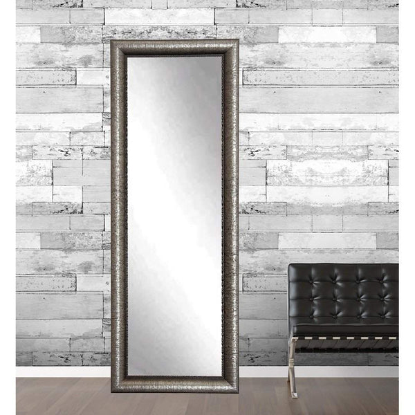 "Brandt Works Silver Metallic Floor Mirror BM16THIN 21.5""x71""-Floor Mirror-Floor Mirror Gallery"