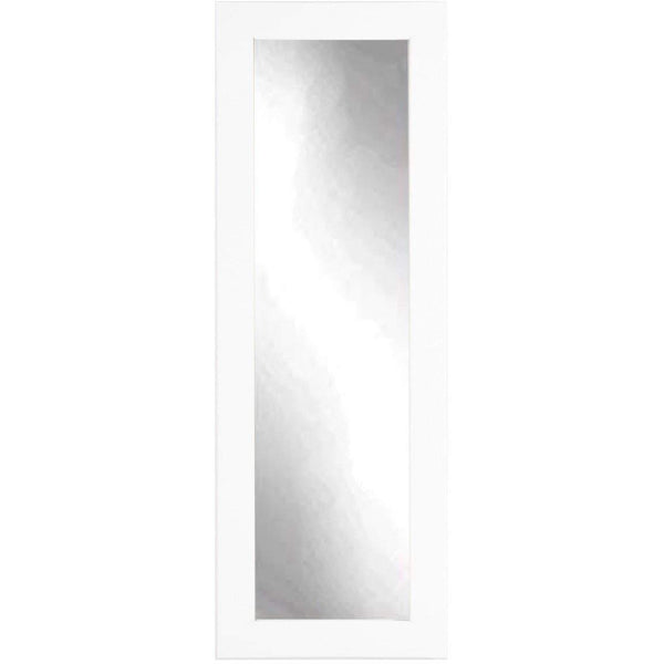 "Brandt Works Pure White Floor Mirror BM3THIN 21.5""x71""-Floor Mirror-Floor Mirror Gallery"