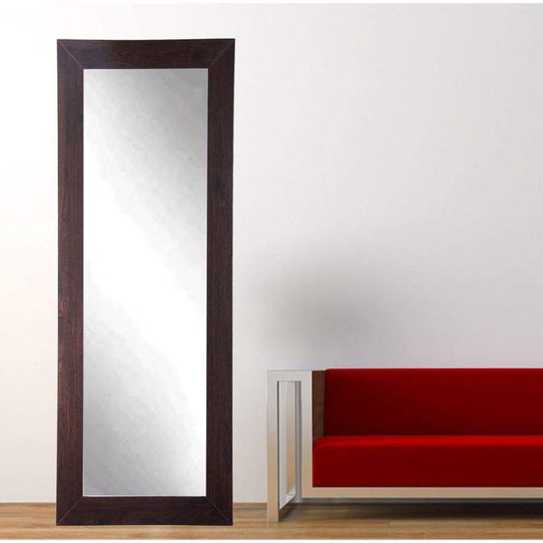 "Brandt Works Walnut Floor Mirror BM6THIN 21.5""x71""-Floor Mirror-Floor Mirror Gallery"
