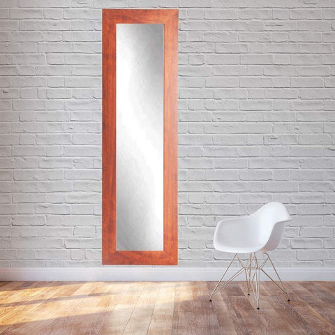 "Brandt Works Canadian Walnut Floor Mirror BM9SKINNY 16""x71""-Floor Mirror-Floor Mirror Gallery"
