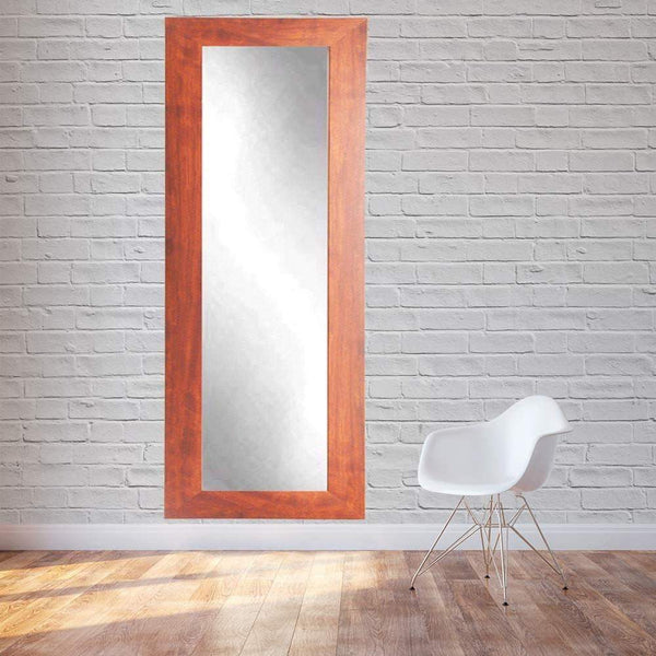 "Brandt Works Canadian Walnut Floor Mirror BM9THIN 21.5""x71""-Floor Mirror-Floor Mirror Gallery"