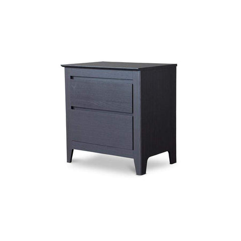 Baxton Studio Espresso Modern Nightstand - CA-2DW-NS-Nightstands-Floor Mirror Gallery