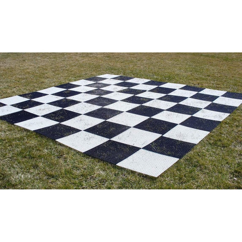 Plastic Grid Chess Board, CNChess, China, GCB15, by WorldWise Imports-Chess Board Garden-Floor Mirror Gallery