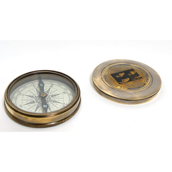 Beetles Compass w leather case Model ND003 by Old Modern Handicrafts-Models-Floor Mirror Gallery