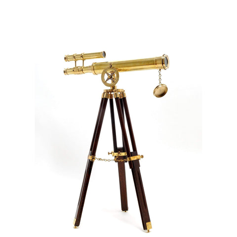 Telescope with Stand- 18 Inch Model ND021 by Old Modern Handicrafts-Models-Floor Mirror Gallery