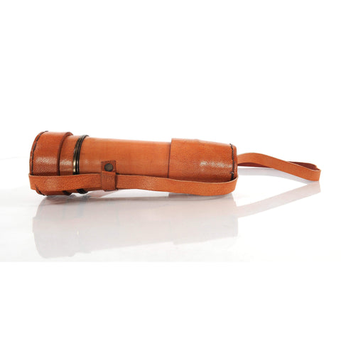 Handheld Telescope w leather overlay-18 inches Model ND025 by Old Modern Handicrafts-Models-Floor Mirror Gallery