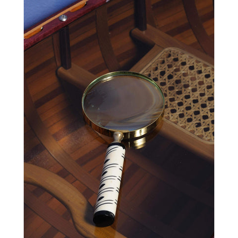 Magnifier in wood box- 4 inches Model ND041 by Old Modern Handicrafts-Models-Floor Mirror Gallery