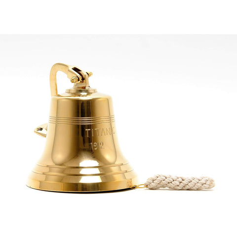 Titanic Ship Bell - 6 inches Model ND047 by Old Modern Handicrafts-Models-Floor Mirror Gallery
