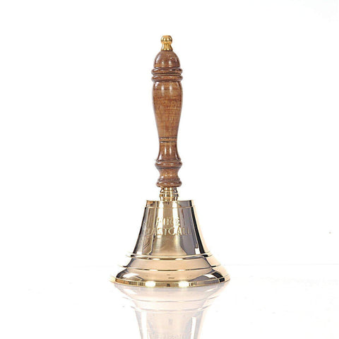 Fire last call hand Bell- 6 inches Model ND053 by Old Modern Handicrafts-Models-Floor Mirror Gallery