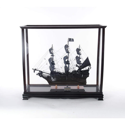 Display case for tall ship medium Model P006 by Old Modern Handicrafts-Models-Floor Mirror Gallery