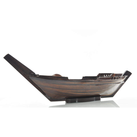 Dhow Boat Sushi Tray Model Q056 by Old Modern Handicrafts-Models-Floor Mirror Gallery