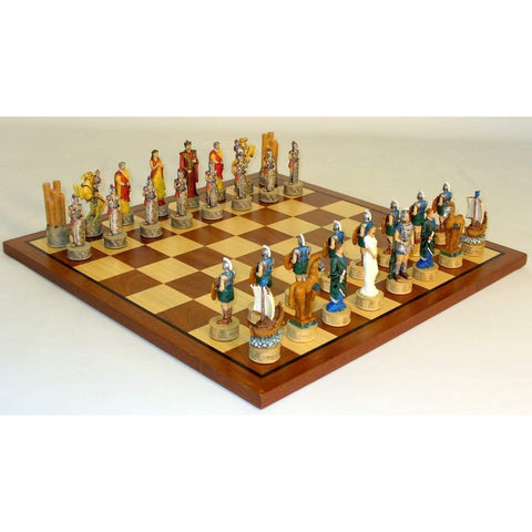 Troy vs Sparta Chess Set, Royal Chess, China, R72048-SM, by WorldWise Imports-Chess Set-Floor Mirror Gallery