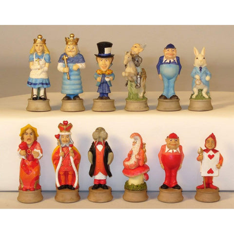 Alice in Wonderland, Royal Chess, China, R75144, by WorldWise Imports-Chessmen-Floor Mirror Gallery