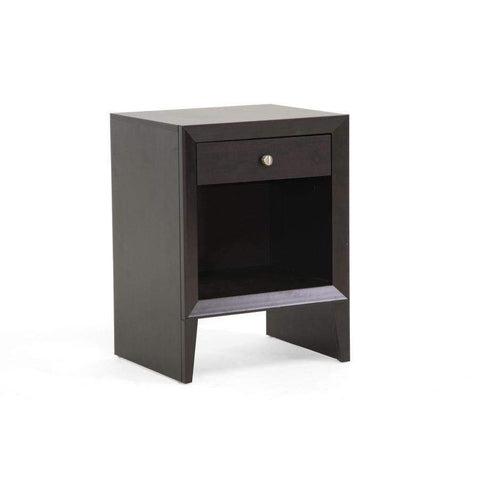 Baxton Studio Leelanau Brown Modern Accent Table and Nightstand - ST-006-AT-Nightstands-Floor Mirror Gallery