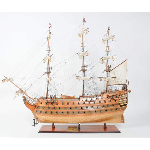 HMS Victory Xl Model T032 by Old Modern Handicrafts-Models-Floor Mirror Gallery