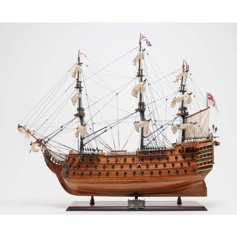 HMS Victory Exclusive Edition Model T034 by Old Modern Handicrafts-Models-Floor Mirror Gallery
