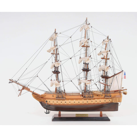 USS Contitution Small Model T089 by Old Modern Handicrafts-Models-Floor Mirror Gallery