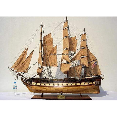 USS Constitution XL Model T103 by Old Modern Handicrafts-Models-Floor Mirror Gallery